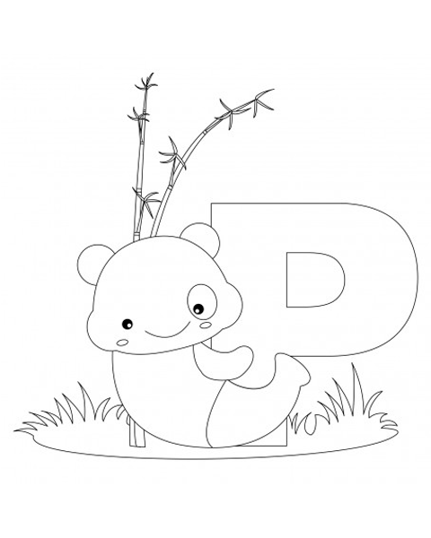Letter P Coloring Page With Images