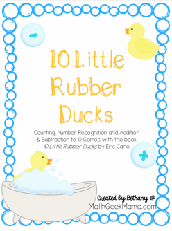 Counting To 10: Help The Mama Duck