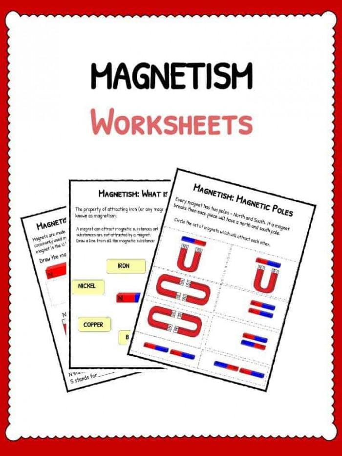 Magnetism Worksheets
