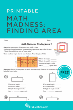 Math Madness: It S The Same Area 2