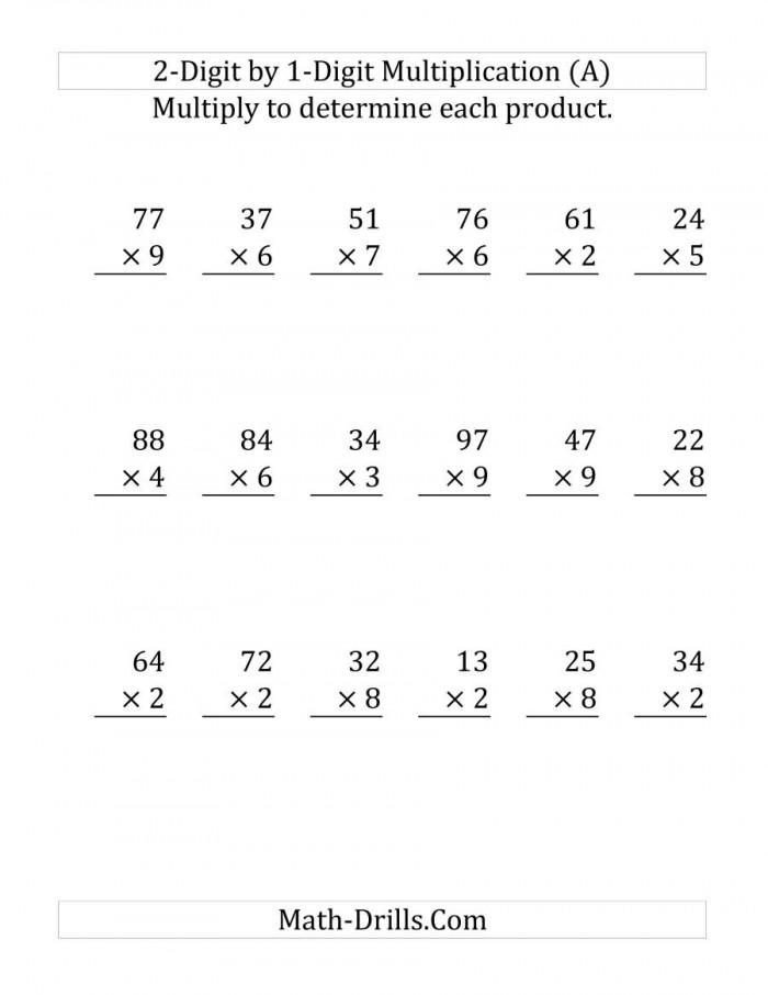 Multiplying A