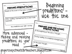Making Predictions: Before, During, After!