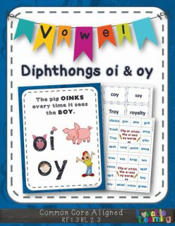 "Vowel Diphthongs: ""Oi"""