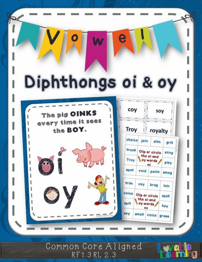 Oi   Oy Vowel Diphthongs With Images