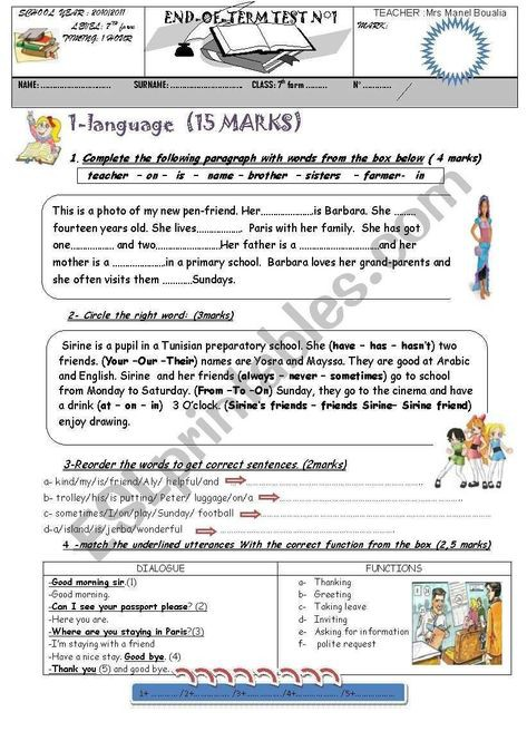 Pin By Moon Mouelhi On English Grammar Worksheets In