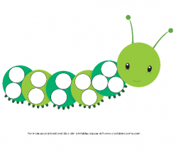 Caterpillar Dot-To-Dot
