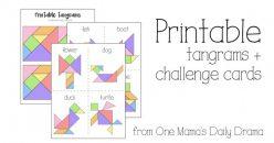 Tangrams Printable