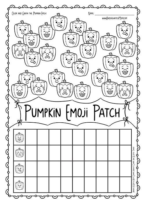 Pumpkin Patch Emoji Math