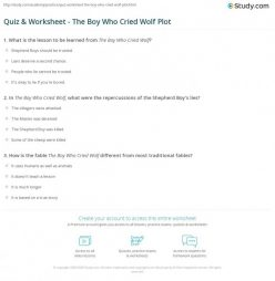 The Boy Who Cried Wolf: Evaluating Character Traits