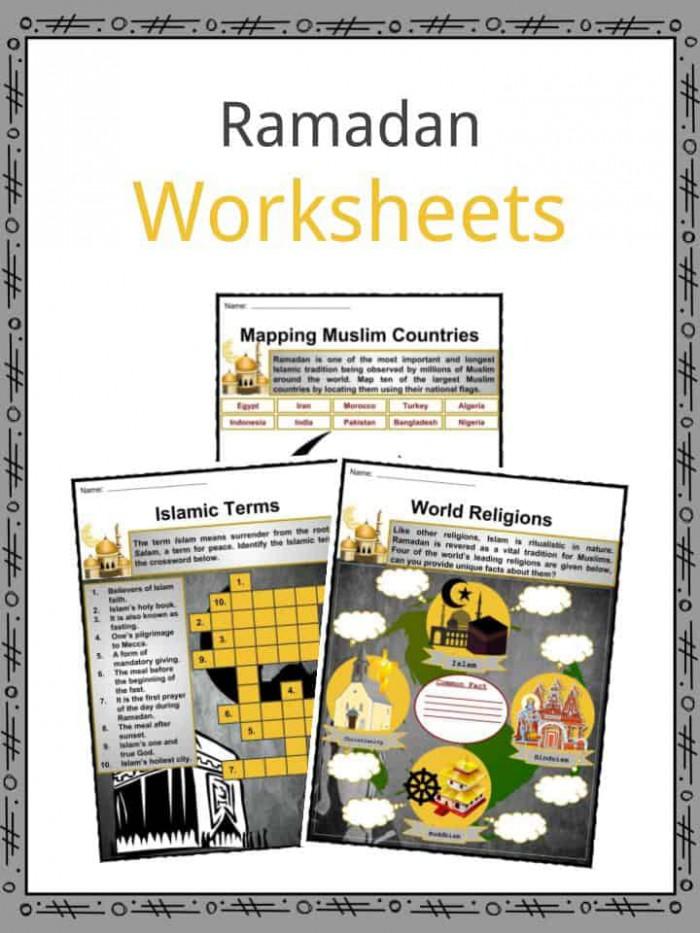 Ramadan Facts  Worksheets  Beliefs   Etymology For Kids