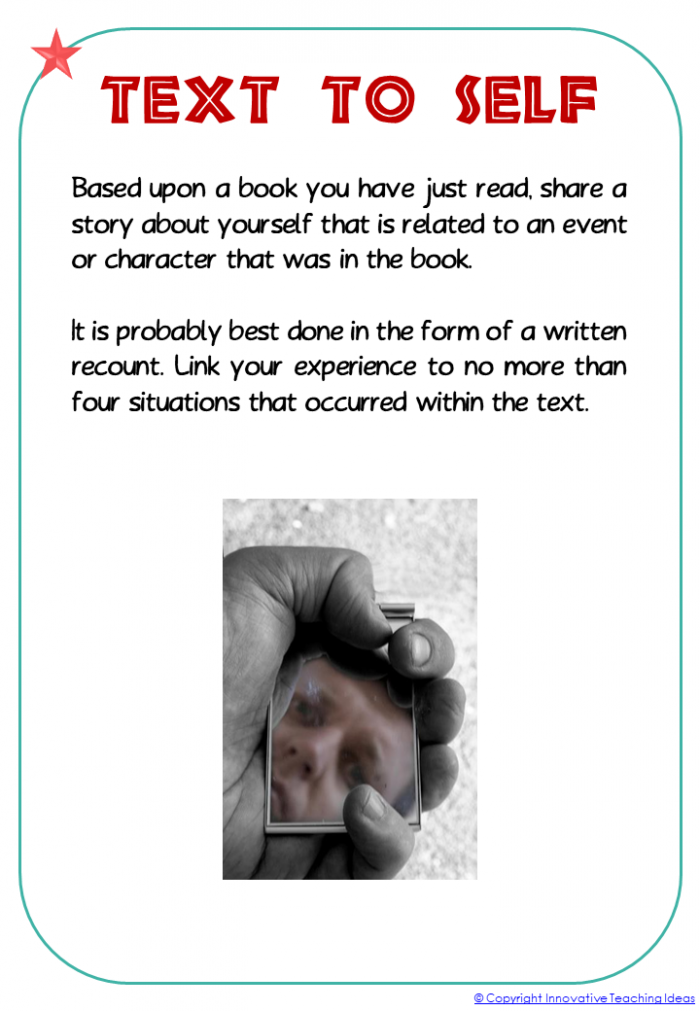 Reading Activities For Any Book  Literacy Ideas