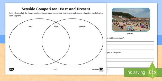 Seaside Past And Present Worksheet