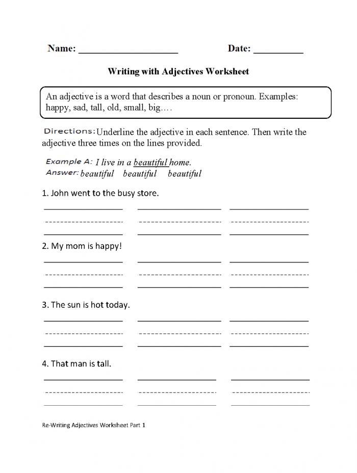 Speech Homework Worksheets