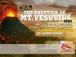 Volcano Writing Scene
