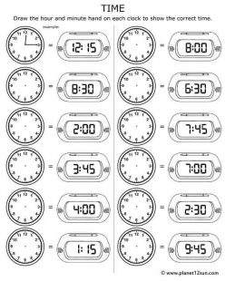 Clock Work: Telling Time