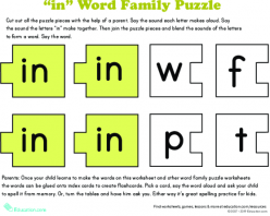 Read And Spell -Ike Family Words