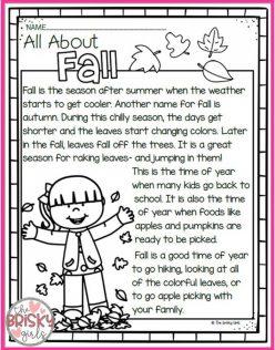 Reading Fluency: Autumn