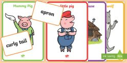 """""""The Three Little Pigs"""" Character Study"""