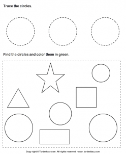 Find And Color Circles