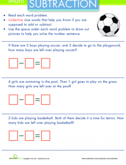 Wordy Word Problems: Addition #1