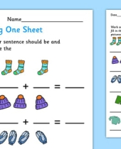 adding  worksheet teacher made 9