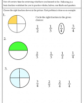 basic fractions worksheets  steemit 9