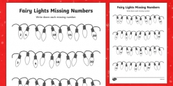 Missing Numbers: Counting By Twos