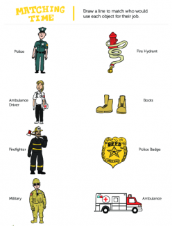 Community Helper Identification: Who Am I?