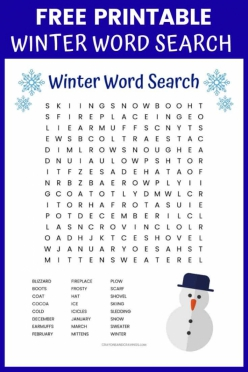Easy Word Search: T Through W
