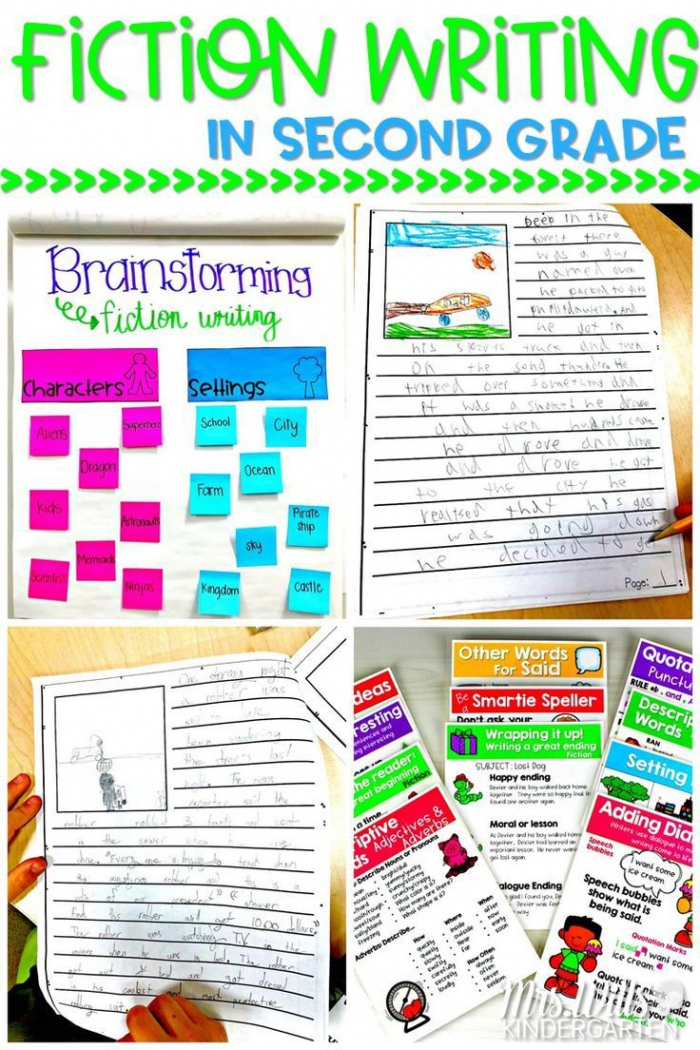 Fiction Writing In Second Grade