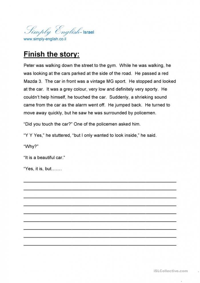 Finish The Story