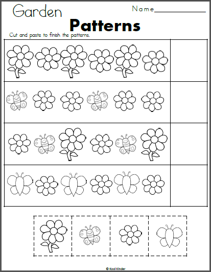 Flowers And Butterfly Patterns