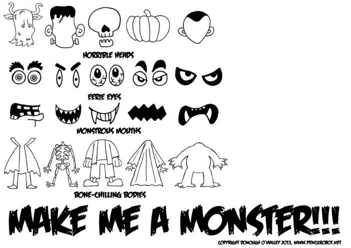 Free Halloween Worksheet