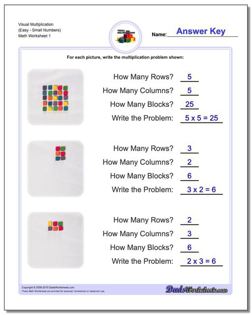Free Multiplication Worksheets For Third  Fourth And Fifth Grade