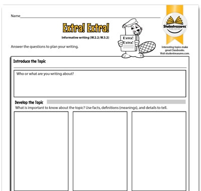 Free Nd Grade Writing Activities