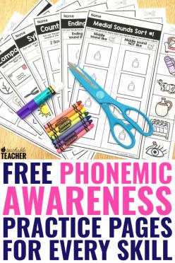 Phonemic Awareness: Middle Sounds