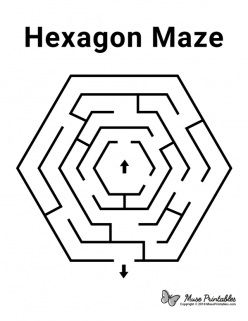 It's A Maze Of Hexagons!
