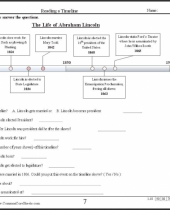 free timeline worksheets check out these  free ccss worksheets 7