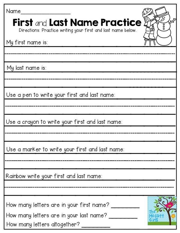 Fun First Grade Writing Worksheets To Print In