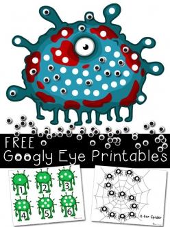 Printable Googly Eyes