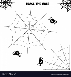 Tracing Lines: Halloween