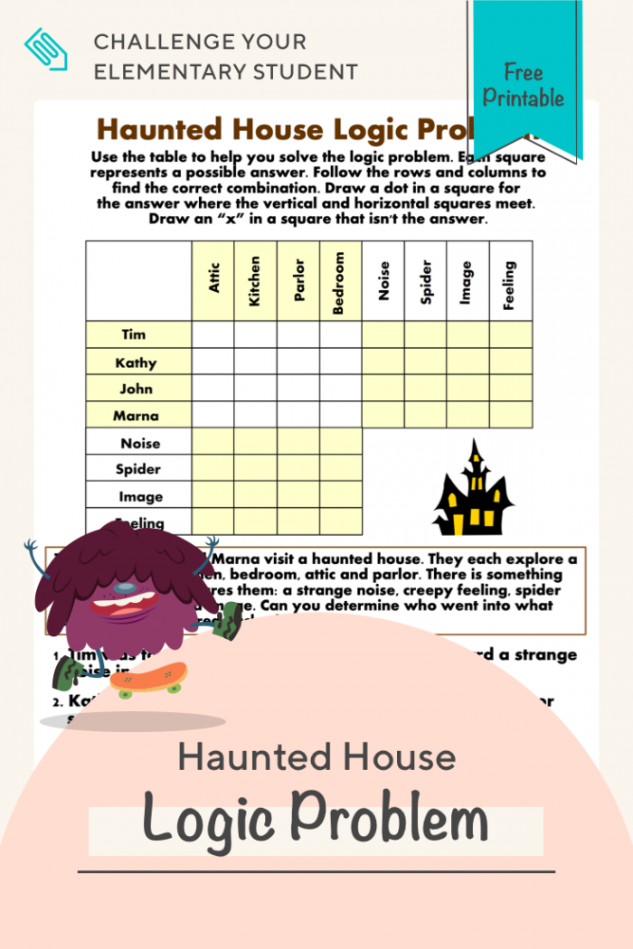 Haunted House Logic Problem