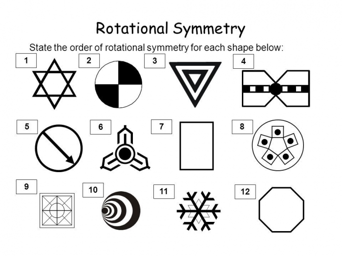 Image Result For Rotational Symmetry Worksheet With Answers