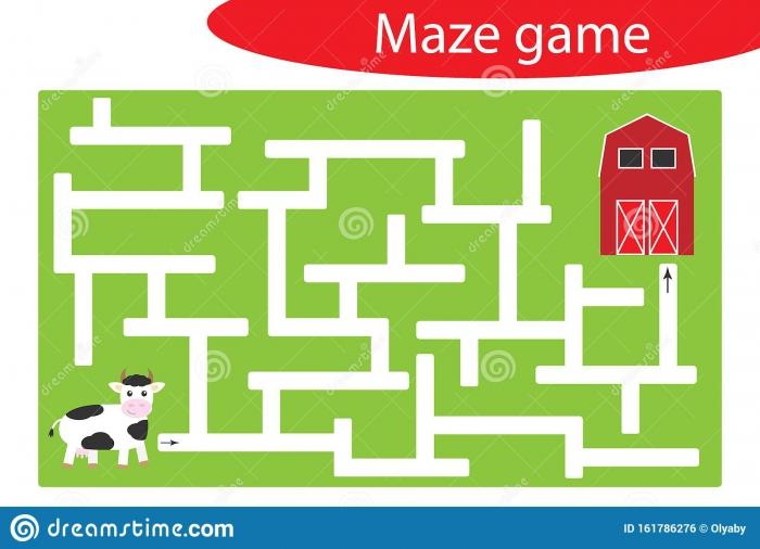 Koala Maze Worksheets