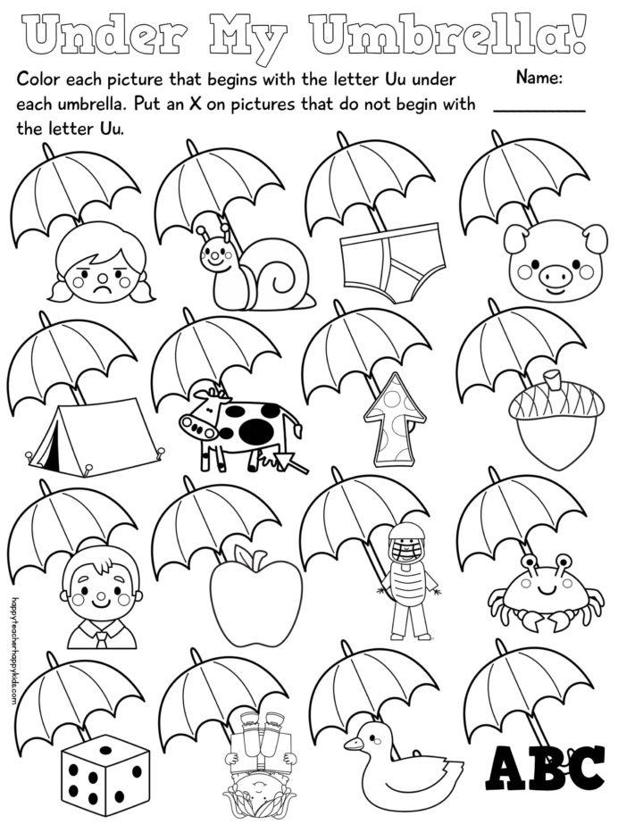 Letter Kindergarten Fun Jolly Phonics Activities Worksheets Grade