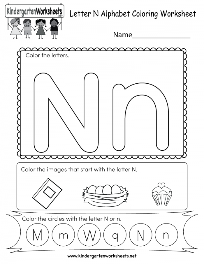 Coloring Worksheets By Letters Coloring Pages For Kids
