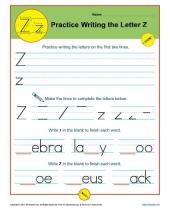 letter z 8