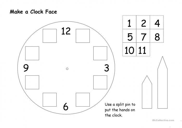 Make A Clock Face
