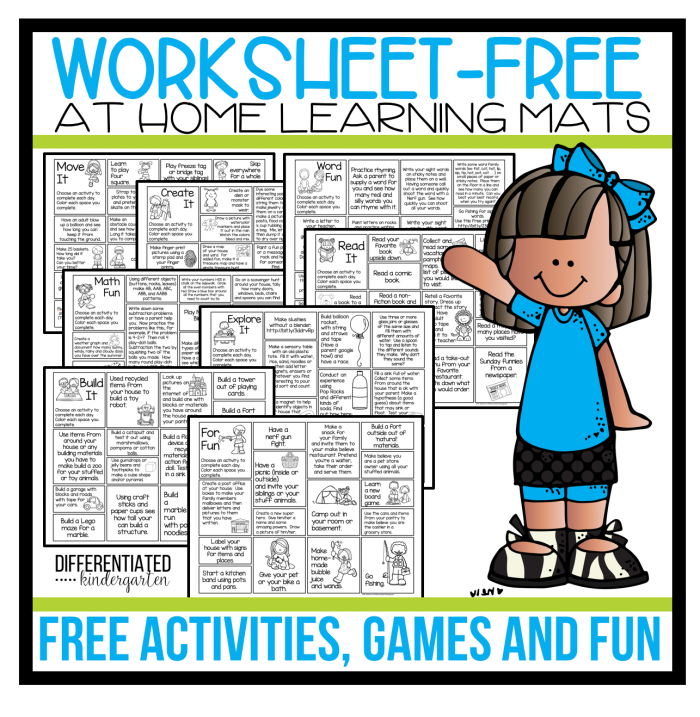 No Worksheets Allowed These Mats Include Tons Of Ideas For Games