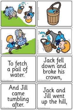 Nursery Rhyme Match-Up